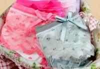 Женские трусики Lace Briefs Fashion underwear women 5pcs/lot