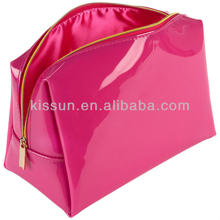 Patent PVC Zipper Bag