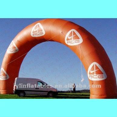 Hot selling durable blue advertising inflatable arch