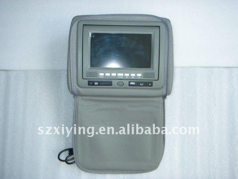 7 inch Car Headrest DVD Player with TV USB(optional)