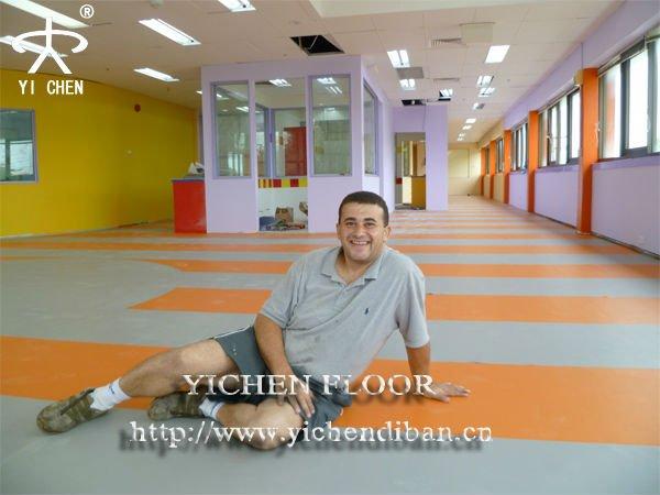 Colorful vinyl plastic flooring,pvc flooring for kids