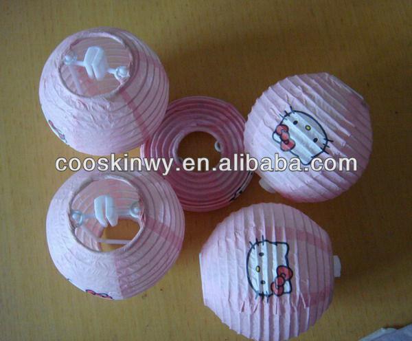 Good quality round chinese lanterns pattern