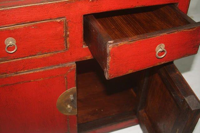 Antiken vintage-möbel/rot sideboard-Nachttisch-Produkt ID ...