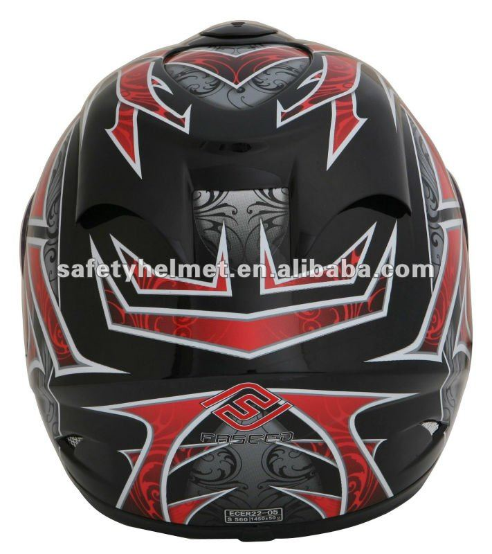 New abs full face motorcycle helmet with Micrometric buckle (FS-801)