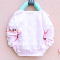 1 pcs reatil!Hot Sweet flower girls long-sleeved coat/contracted girls coat/children clothing/baby clothes