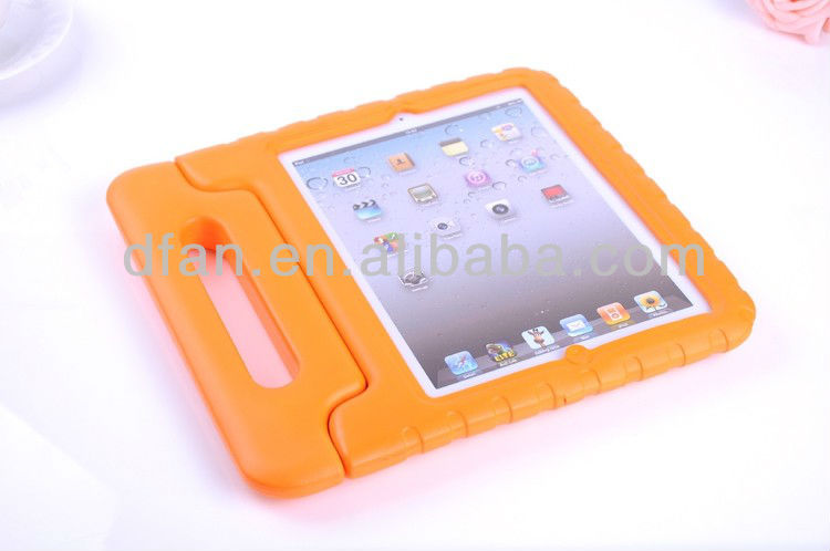 quality real EVA case cover for ipad 2 3 4 with handle