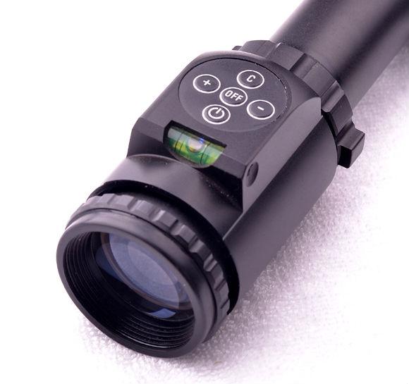 Rifle Scope 2.5-10x42E New-style Button Switch W/Level Riflescope Hunting Riflescopes