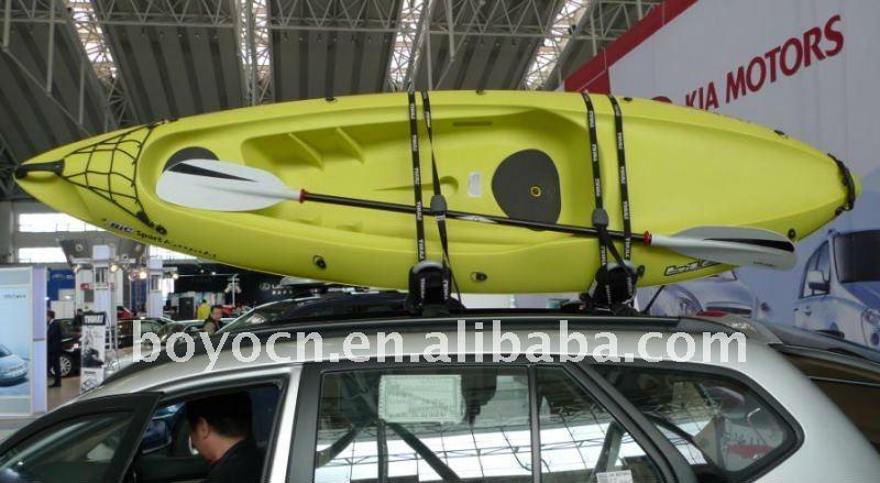 Kayak canot barres de toit d 39 auto id de produit for Porte kayak voiture