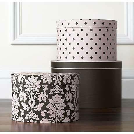 decorative hat boxes wholesale 3