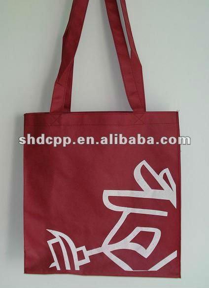 shanghai non woven 4 bottle wine tote bag