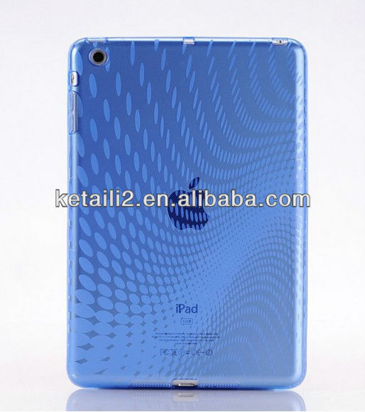 Simple design for clear ipad 2 case, dustproof