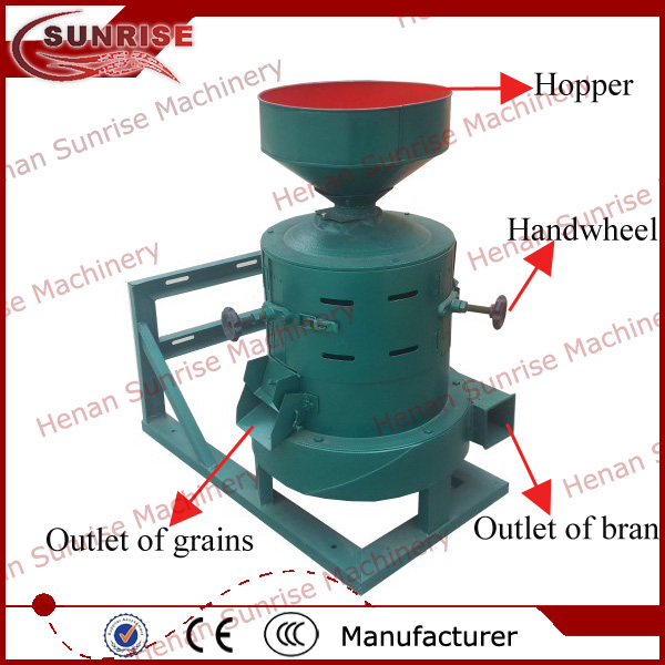 In Greece home use small sweet corn peeler, sweet corn peeling machine