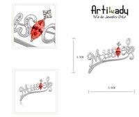 Брошь Artilady TS85183B Platium 7colors swa