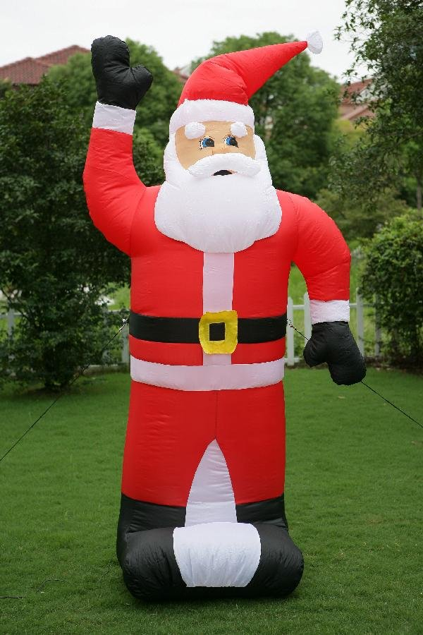 Happy inflatable christmas toys
