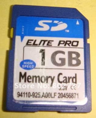Full capacity memory SD card.(4GB)