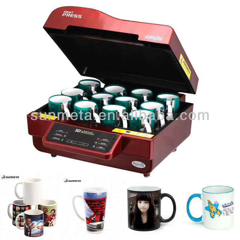 3D sublimation vacuum heat press machine ,equipment for small business at home