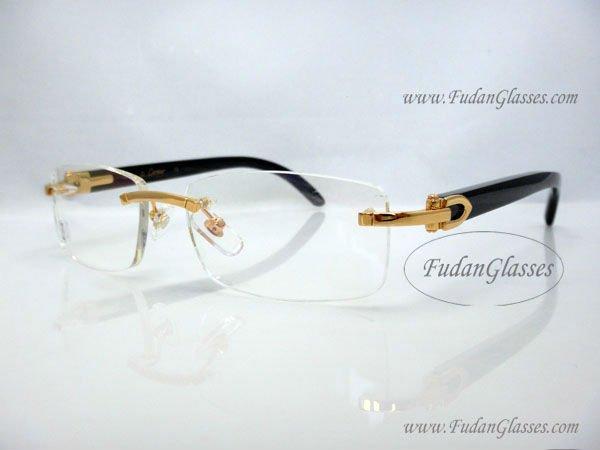 Cartier-buffalo-horn-eyeglasses-frames- | eBay