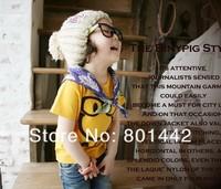 Детская Одежда лето мальчики девочки улыбка мира шаблон футболку детей kt085r