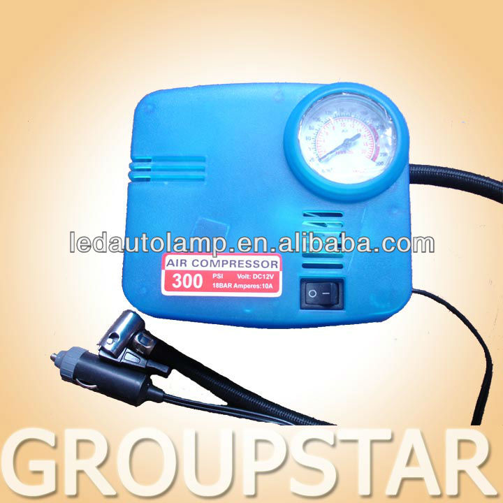 12V Portable Mini car Air Compressor