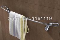 Аксессуары Ванная комната Barras пункт toalhas set Латунь хром, крюк робы, держатель бумаги, полотенце Бар, Ванна кольцо 4 шт