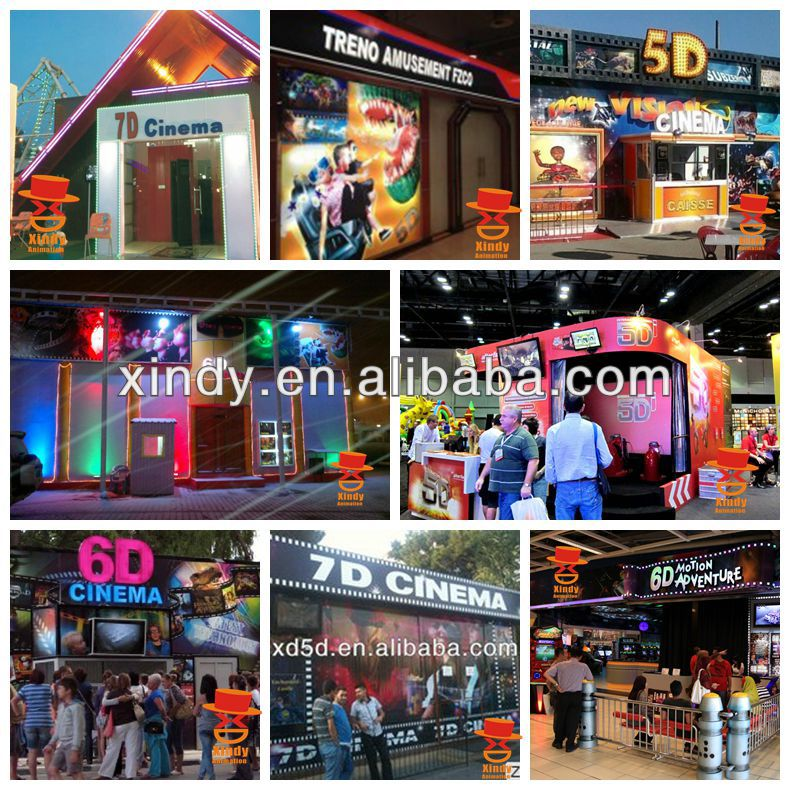 mini truck & 6d cinema equipment & 6d cinema system