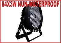 Освещения для сцены 1pc/lot 36X3w Non-waterproof 108W LED Stage Lights DMX Disco Professional Light