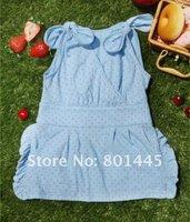 Платье для девочек 2012 summer girl princess dress one piece dress 100% cotton for 2~9Y drop shipping