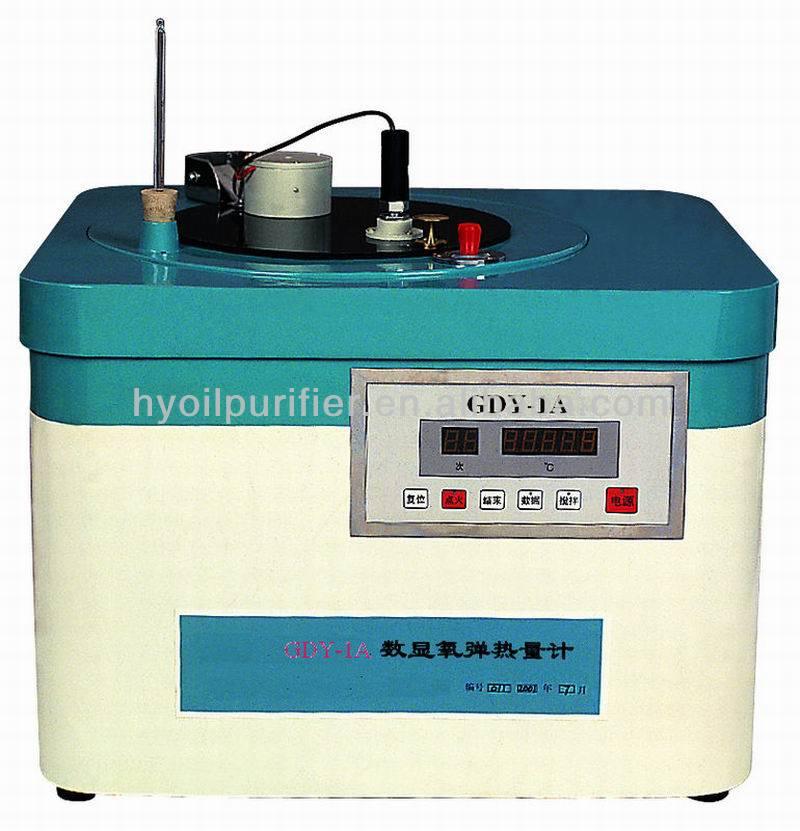 Calorimeter Bomb Manufacturer Gdy 1a Manufacturer of Manual Oxygen Bomb Calorimeter of Cost Performance