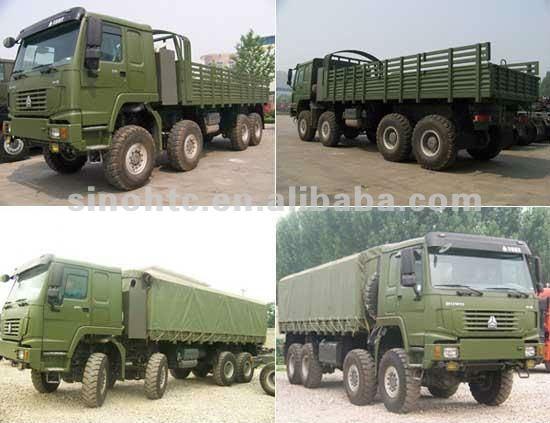 Howo Military Truck 6x6 Trucks