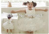 Платье для девочек Hot baby girl party dress 2013, baby tu tu dress, wedding dress for girl, princess dress/ball gown kid summer