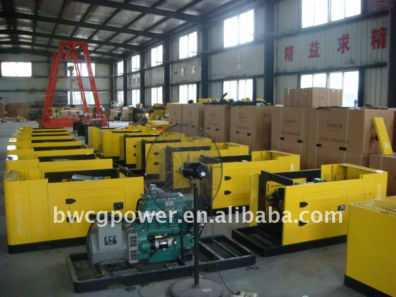 Industrial Used! China FAW 100kW Diesel Generator/Generators