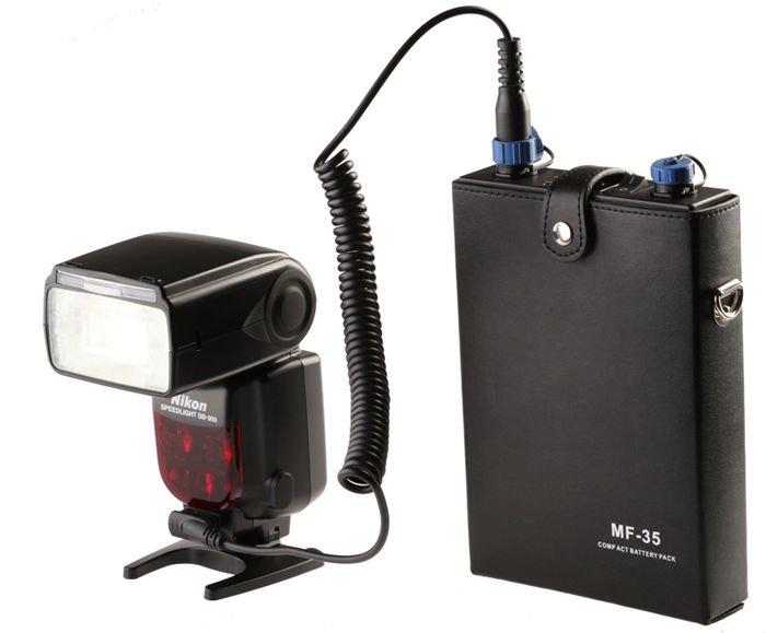 jinbei mf 35 portable power pack speedlight strobe view. Black Bedroom Furniture Sets. Home Design Ideas