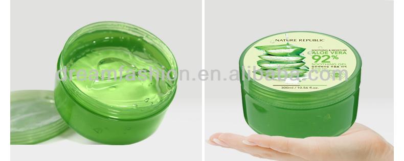 South Korea's Nature Republic natural park of Aloe Vera Gel 300ml / Perfect moisturizing cream