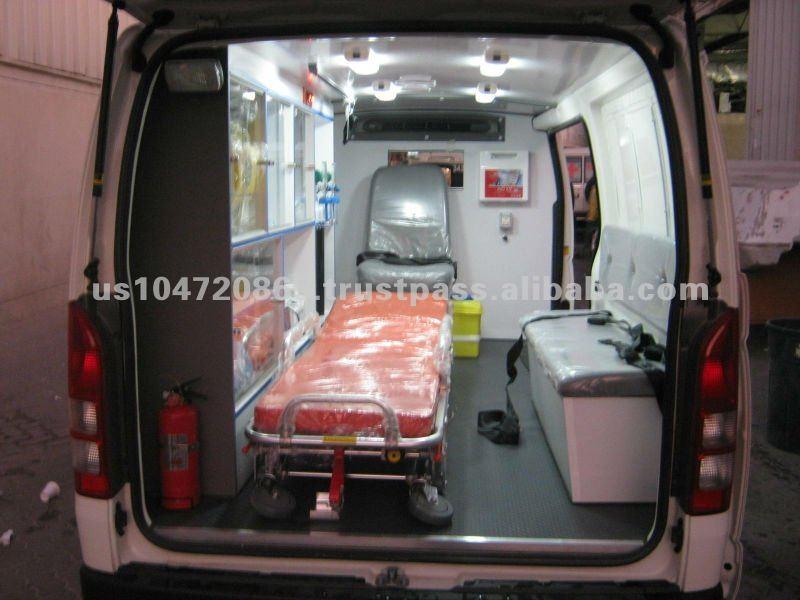TOYOTA HIACE VAN Ambulance 2014 model PATROL and DIESEL EXPORT