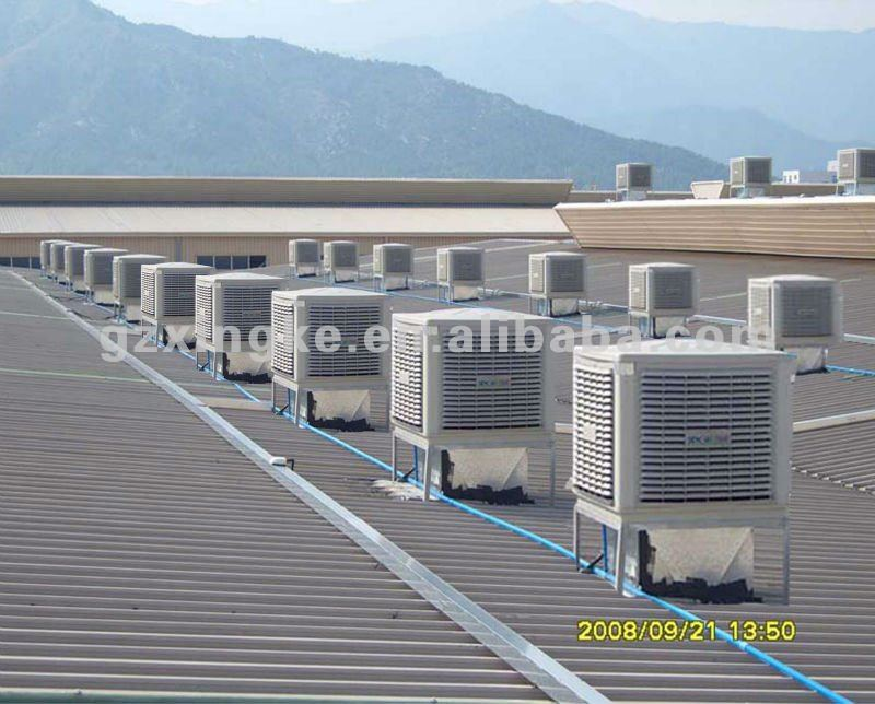 low cost 18000m3/h desert air cooler / water air cooler / evaporative air conditioning