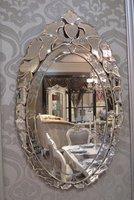 Mr-201133 венецианской стены зеркало травления цветами