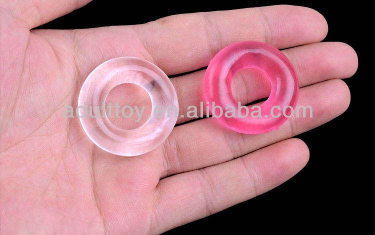 Anal anel peniano sexo/produto do sexo anel peniano pênis de sucção de borracha para os homens