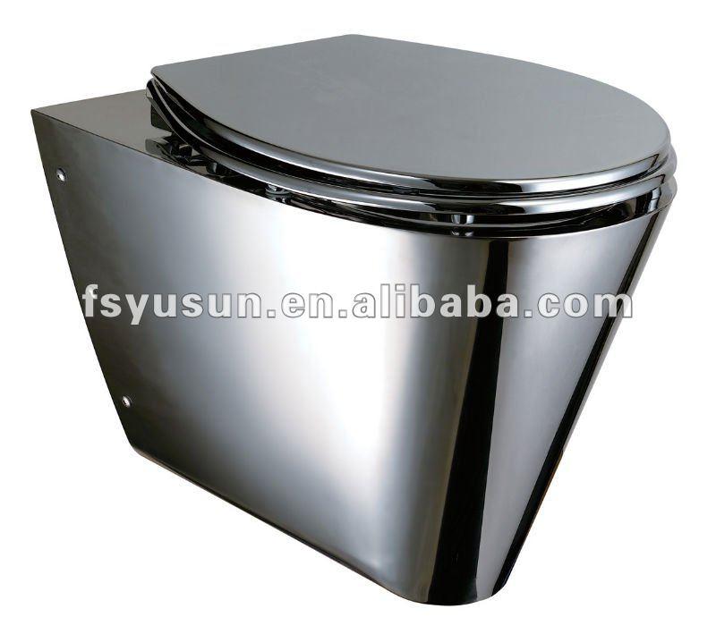 Tasa De Baño O Inodoro:Stainless Steel Toilet