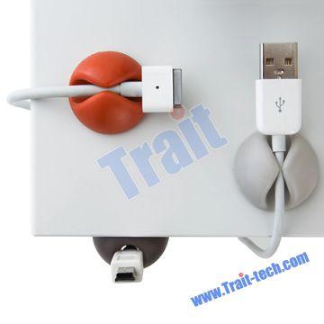 Cute Multi-Purpose Plastic Cable Ties Clips Wire Organizer
