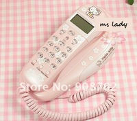 Голосовой телефон hello kitty telephone girl phone cute HK Airmail