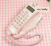 new arrival hello kitty telephone girl phone cute free shipping HK Airmail