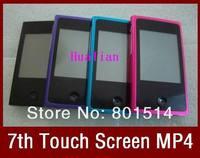 """MP4-плеер 2.5"""" Touch Screen FM Radio Voice Recorder Pedo Meter 7colors 7TH 16GB MP3 MP4 Player for iPod Nano CN POST"""