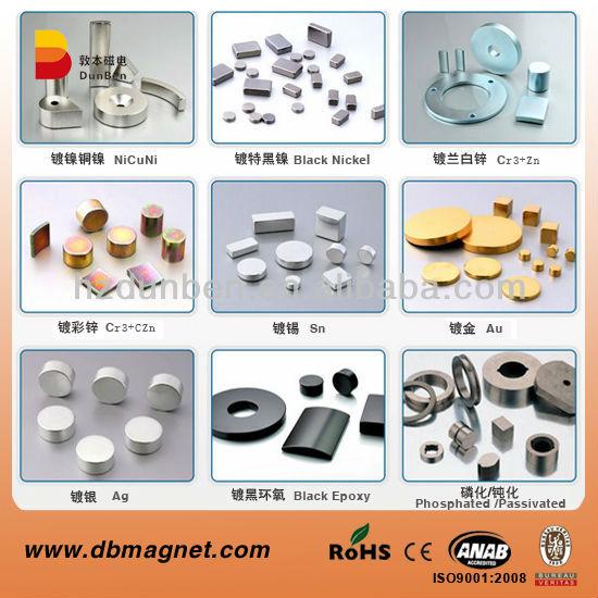 NdFeB Magnet for Motor Generator for sale