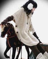 Женский пуловер 2013 new winter women's fashion long sweater