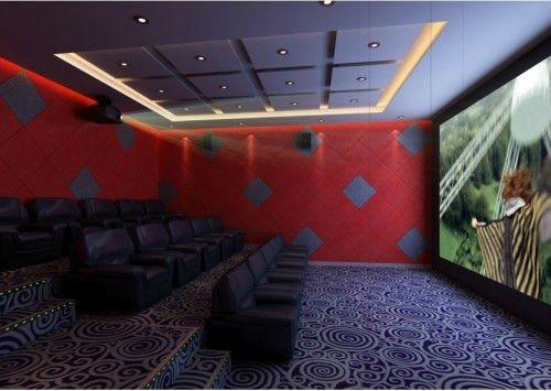 High-end 3d 4d 5d cinema system