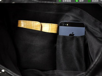 Детали и Аксессуары для сумок NEW women shoulder bags PULL&BEAR New Design Women Fashion Rivet Motorcycle Handbags PU Leather Model no.YW172