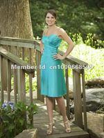 Платье для подружки невесты B231112 Spaghetti Straps Draped Empire Satin Purple Color Floor-Length Bridesmaid Dresses Custom Made