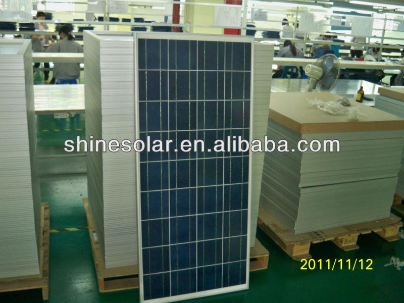140W Solar panel kit,pv solar panel
