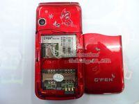2,4-дюймовый двойной sim двойной полосы российских флип мобильный телефон g888 флип русской клавиатуры мобильного телефона