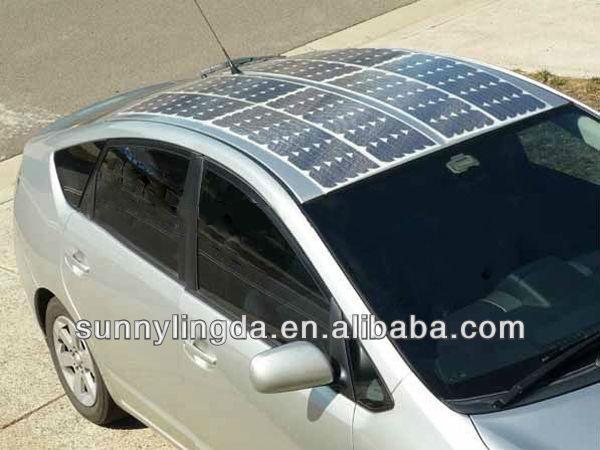 Promote SLD-SMB-100W flexible 100w solar panel flexible solar panel 100w high efficient pv solar panel